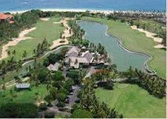 Golfen op Bali