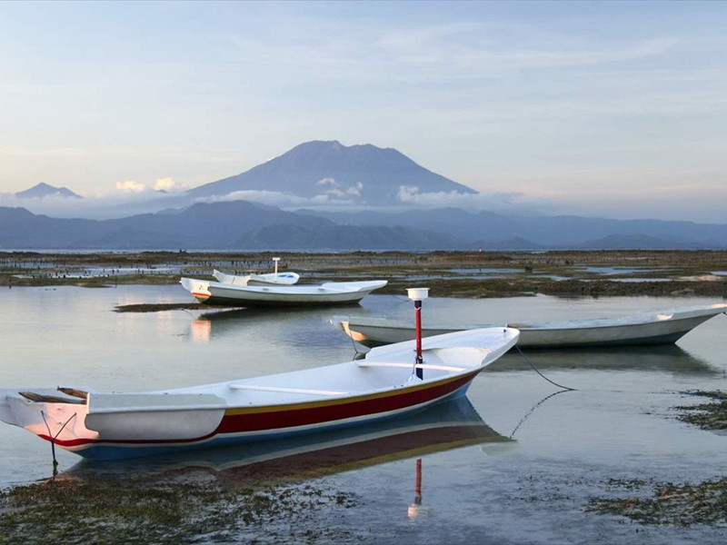 agung vulkaan